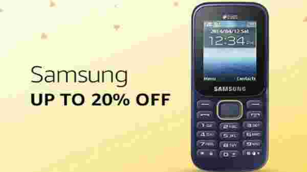Samsung phones at up to 20% off