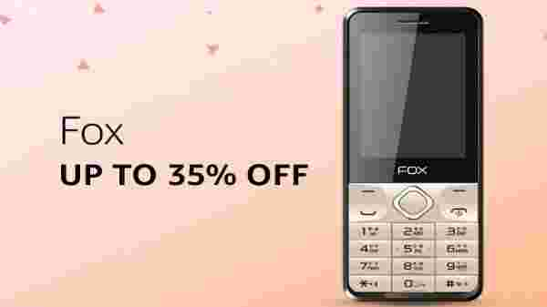 Fox phones at up to 35% off