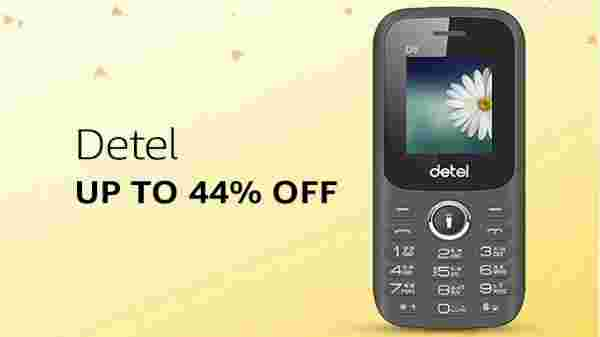 Detel phones at up to 44% off