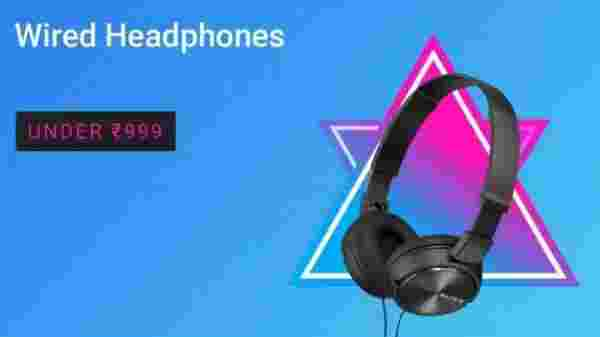 Wired Headphones under Rs. 999