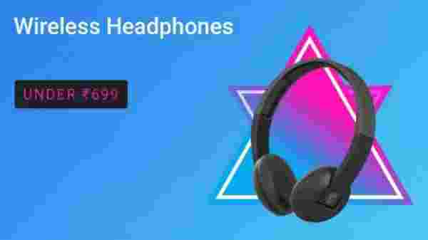Wireless Headphones under Rs. 699