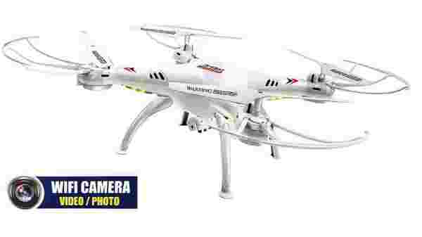Jack Royal White Vision Wifi and camera drone