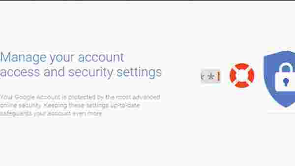Account Settings & Security Checkup