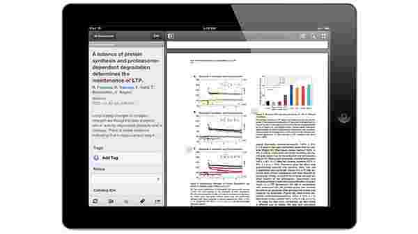 Annotating PDFs on your iPhone or iPad.
