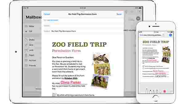 Editing or Signing PDFs on iPhone or iPad