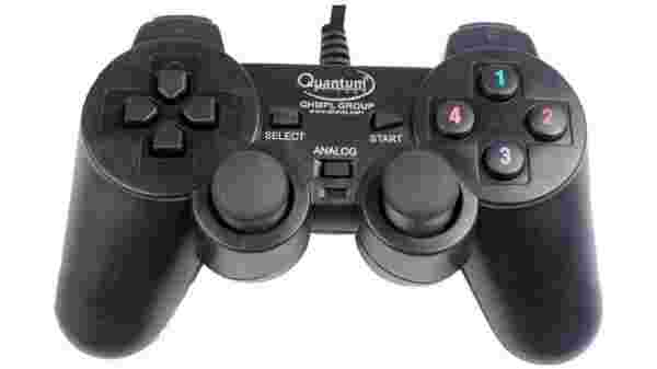 30% off on Quantum 2 Way Vibration PC USB Controller Gamepad  (Black, For PC)