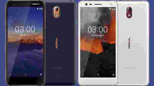 Nokia 3.1 (Android 10 roll out in Q2 2020)