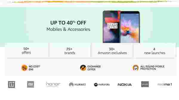 Amazon Freedom Sale offers on smartphones and accessories