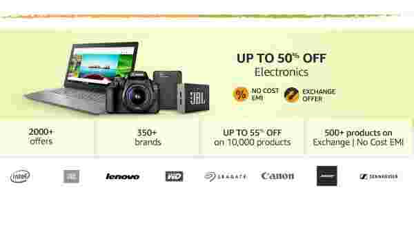 Offers on Electronics