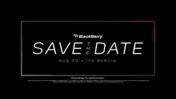 Blackberry at IFA 2018