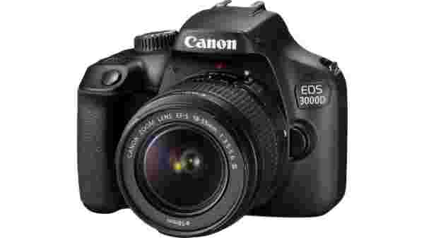 25% off on Canon EOS 3000D DSLR Camera Single Kit with 18-55 lens