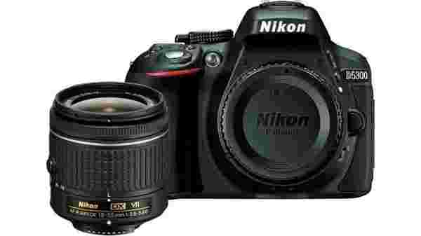 18% off on Nikon D5300 DSLR Camera Body with Single Lens