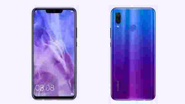 12% off Huawei Nova 3i (Iris Purple, 4GB RAM, 128GB Storage)