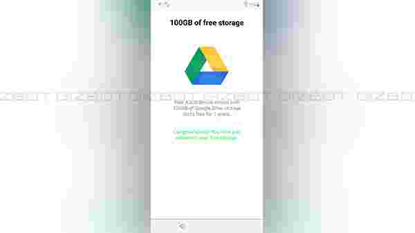 Free 100 GB space on Google Drive