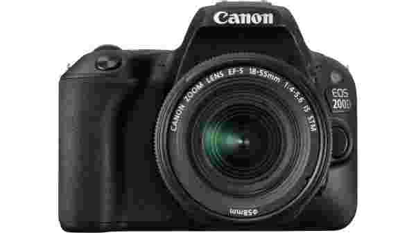 14% off on Canon EOS 200D DSLR Camera Body with Single Lens