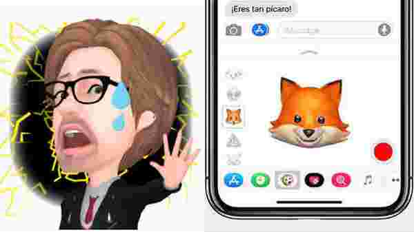 Animoji and Memoji: