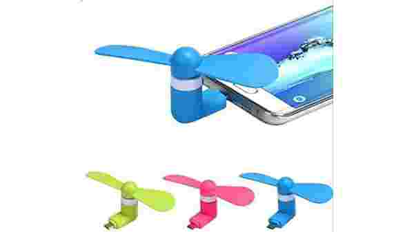 Higadget Mini Portable OTG/Smartphone/Tablet/Mobile Fan for Rs 32