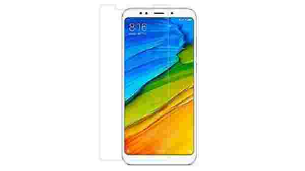 Redmi 5 Anti shock and anti shutter 9H hardness Nano material No breakable and flexible screen protective film/guard free for Rs 1