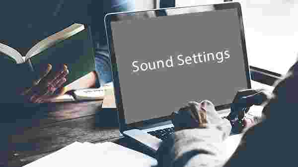 The Sound Settings
