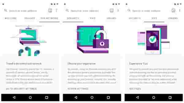 Unique features of the Tor Browser for Android