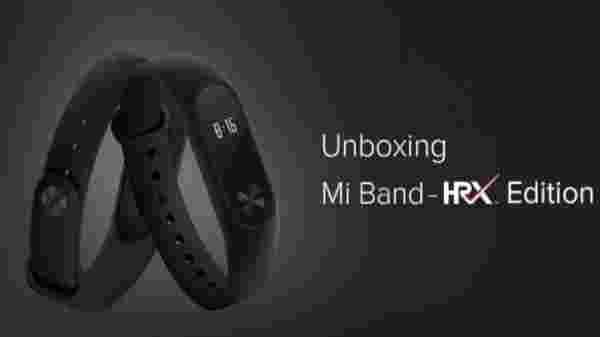 Mi Band - HRX Edition Black (Offer: Rs 300 off)