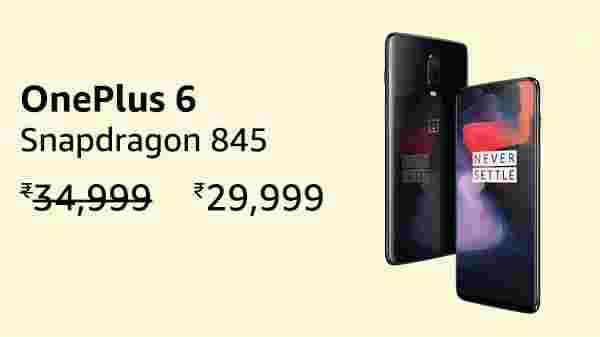 15% off on OnePlus 6