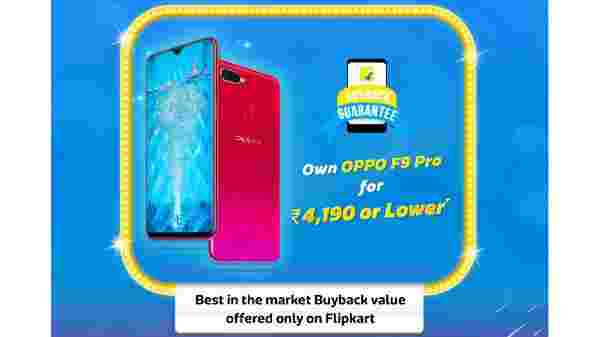 Oppo F9 Pro for Rs 4,190 only