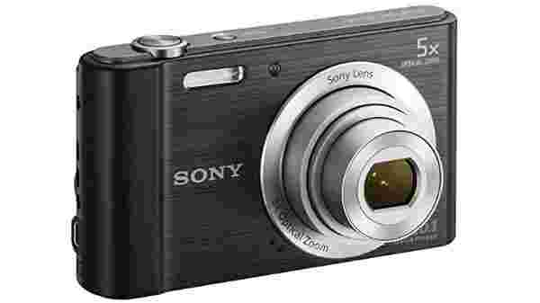 28% off on Sony DSC-W800/BC in5 Point & Shoot Camera (Black)