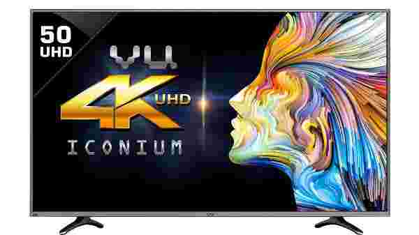 14% off on VU 124cm 50BU116 Ultra HD (4K) Smart LED TV (Black)