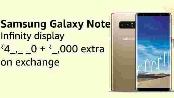 41% off on Samsung Galaxy note 8