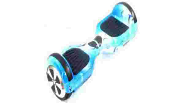 Creative Balancing Wheel Hover Board Scooter  (Blue)