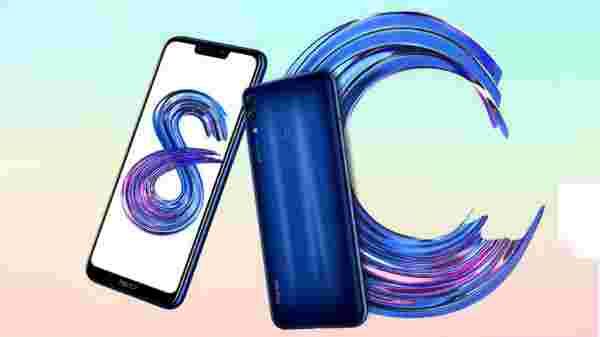 13% off on Honor 8C (Blue, 4GB RAM, 64GB Storage)