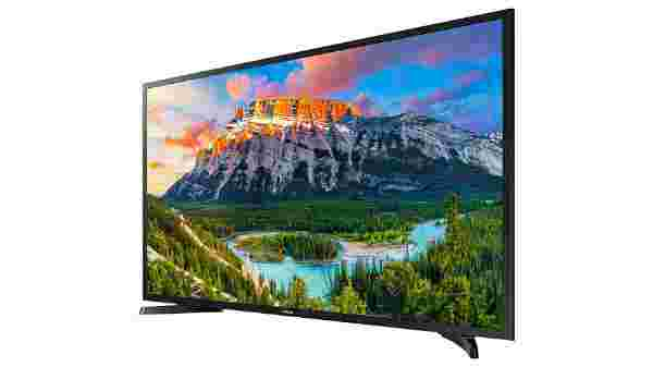 34% off on Samsung 108cms (43 inches) Full HD On Smart LED TV 43N5300 (Black) (2018 model)