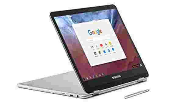 6% off on Samsung Chromebook Plus Convertible Touch Laptop (XE513C24-K01US)