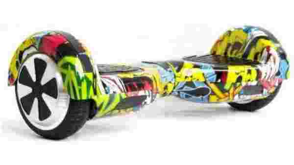 sky wings skywings marshal 6.5 inch self balancing electric hoverboard