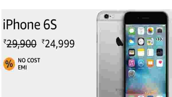 42% off on Apple iPhone 6s (EMI starts at Rs 1,177. No Cost EMI available)
