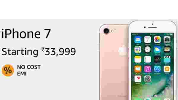 35% off on Apple iPhone 7 (EMI starts at Rs 1,600. No Cost EMI available)