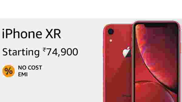 3% off on Apple iPhone XR (EMI starts at Rs 3,526. No Cost EMI available)