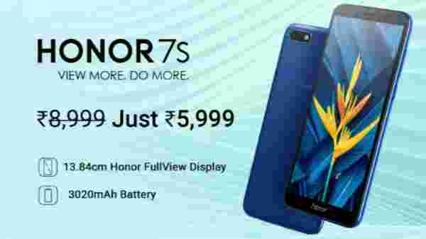 33% off on Honor 7S