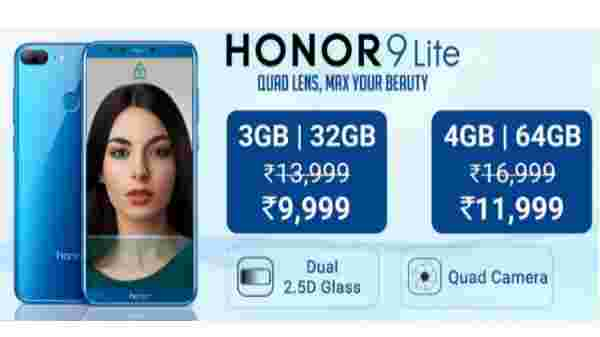 28% off on Honor 9 Lite
