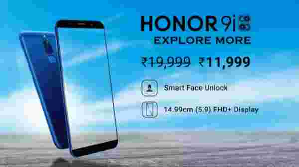 40% off on Honor 9i