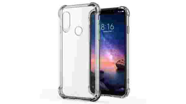 Jkobi Silicon Flexible Protective Shockproof Corner Back Case Cover For Xiaomi Redmi Note 6 Pro -Transparent