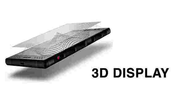 3D display smartphone, the Red Hydrogen One