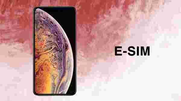 E-SIM on the iPhone XS