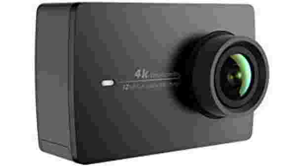 YI 4K action camera specifications