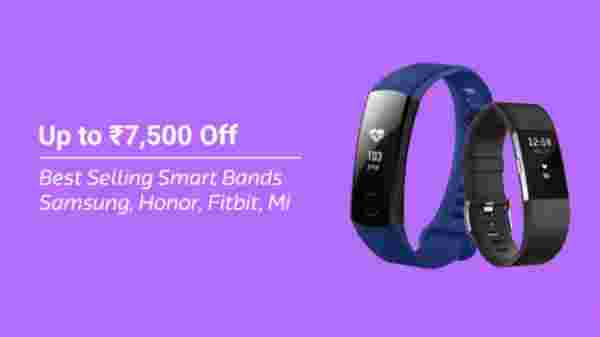 Best selling smart bands(up to Rs. 7,500 off)