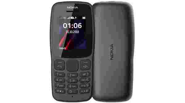New Nokia 106 launched in India for Rs. 1,299