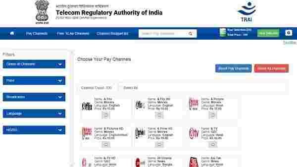 TRAI launches Channel Selector App