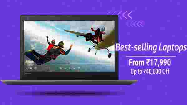 Upto Rs. 40,000 off on Laptops