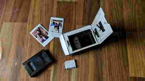 How to setup and print instant photos